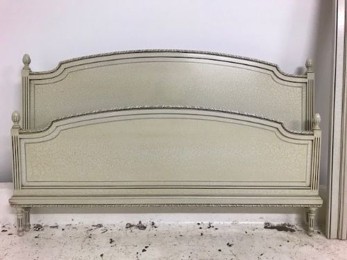 Vintage French King Size Bed  -  160cm - b71
